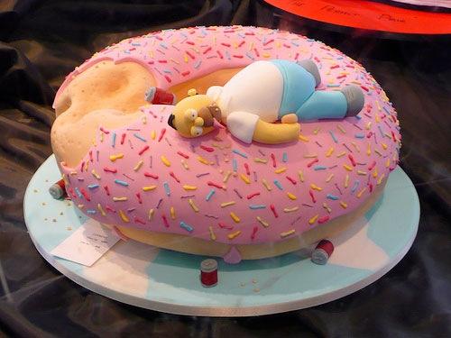 Mmmmm Homer Cakes 183 Blogissues